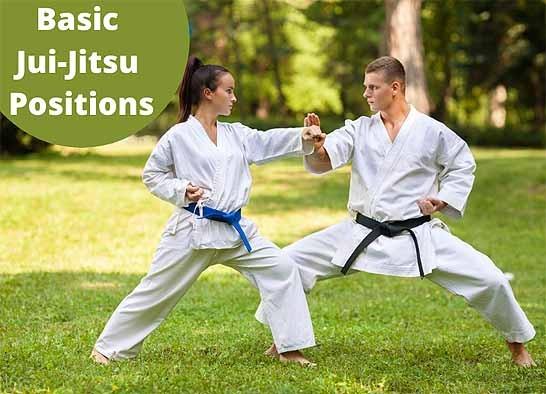 martial arts positions