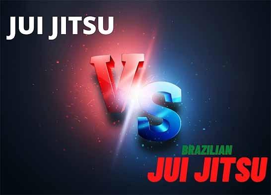 Jui-jitsu vs BJJ