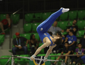 Gymnastics bar for home